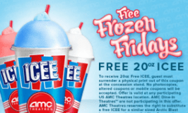 Freebie Find: Free ICEE at AMC Theaters