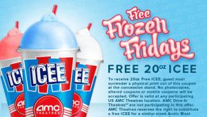 Freebie Find: Free ICEE at AMC Theaters