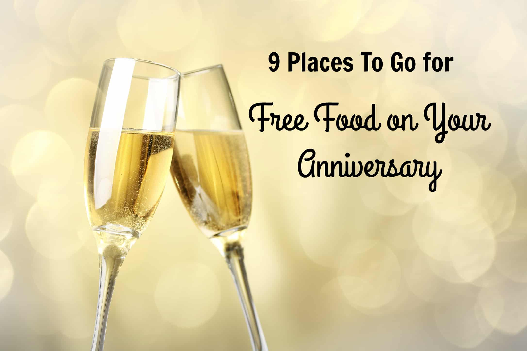 free food on your anniversary