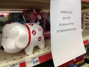 After Valentine's Day Sale: Photos